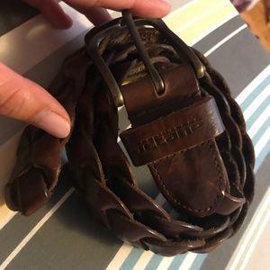 Accessories - Braided Brown Belt